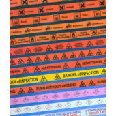 Highly Flammable Warning Tape S4834